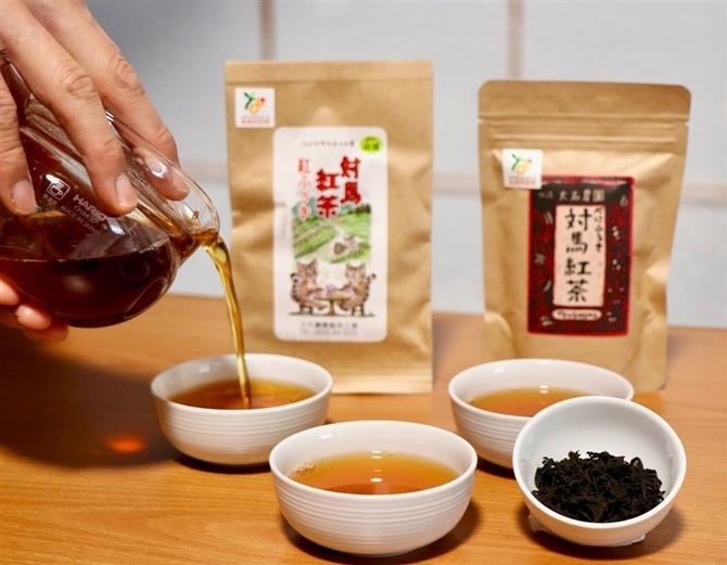 べっこう色の幸福 長崎・対馬の和紅茶