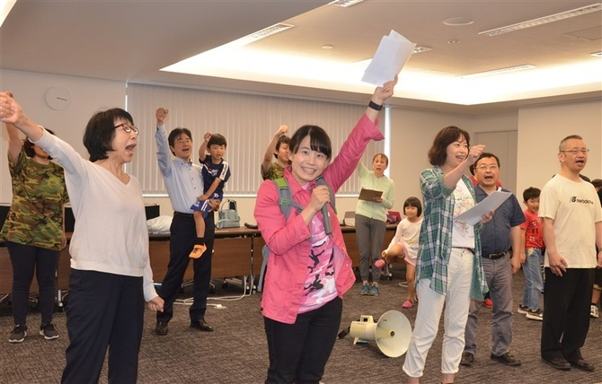 弁護士劇団、平和を訴え 23日福岡市で上演