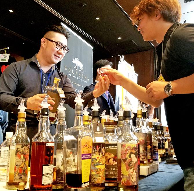 九州最大のウイスキー祭典 福岡市に200種集結