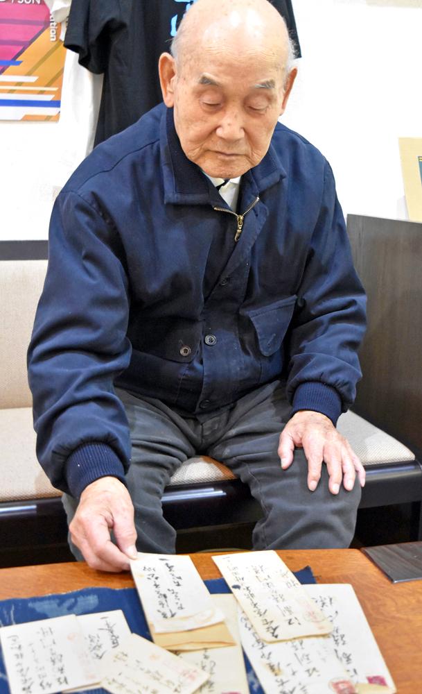 古賀元帥の手紙、故郷へ 有田焼・人間国宝井上氏に寄託