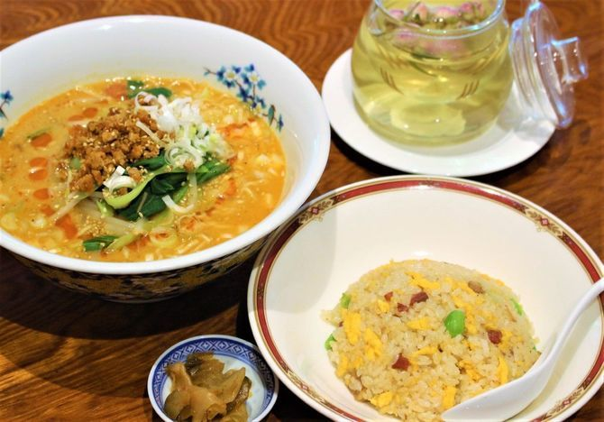 中華季菜 上海ミュー メインが選べる人気ランチ 福岡県久留米市