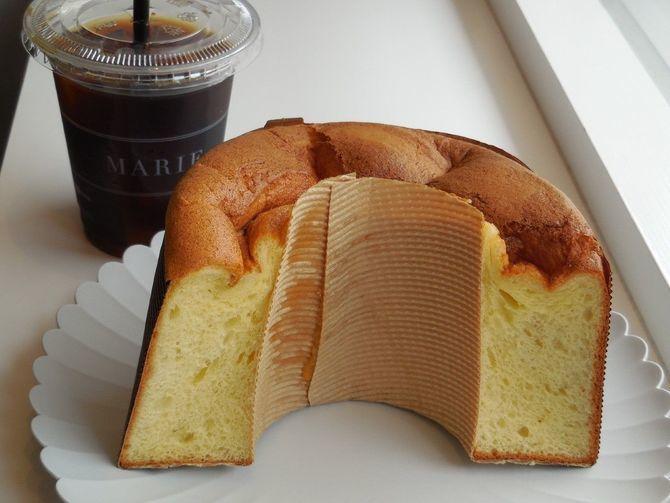 シフォンケーキ マリィ 素材を生かした品が25種 福岡市南区