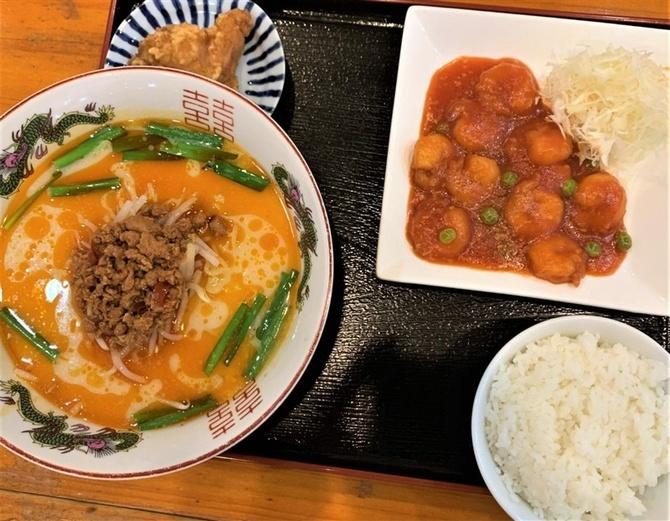 中華サン 選べるランチをお気軽に 福岡県大川市