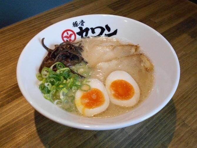 豚骨セワン 自慢の豚骨スープで勝負 福岡市中央区