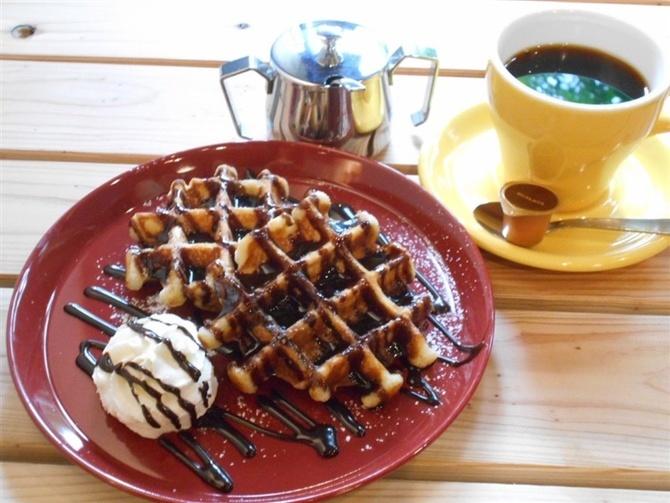 KUROMON COFFEE コーヒーに合うワッフル 福岡市中央区
