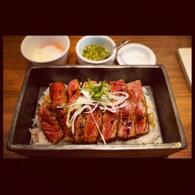 鉄板焼ROU Fukuoka 「極ステーキ重」がお薦め 福岡市東区