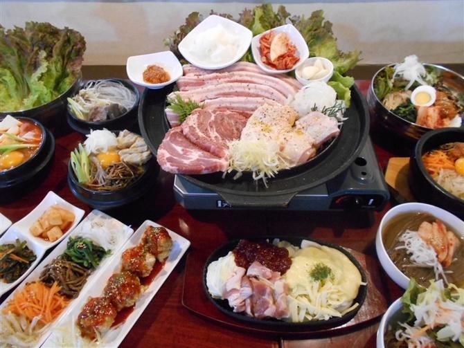 韓国料理 だおん 25種ほどの食べ放題人気 福岡市博多区