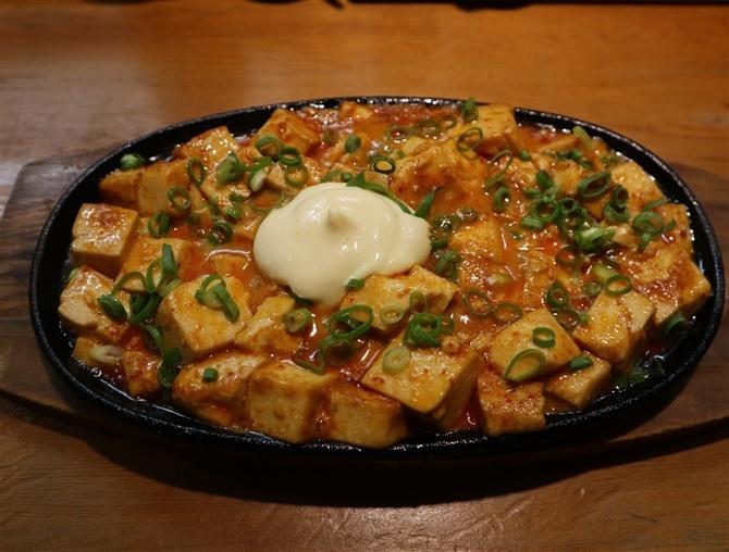 道場破り 辛子豆腐も人気メニュー 福岡市南区