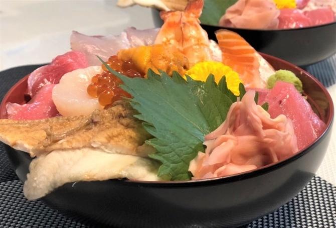 海鮮処 辰海 厳選ネタを集めた海鮮丼 福岡県柳川市