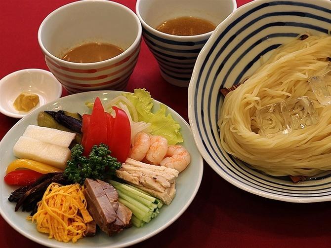中華菜館 福壽 味わい広がる冷やし中華 長崎市新地町