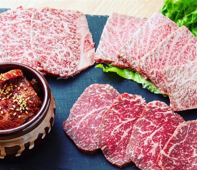 肉処はる 厳選した宮崎牛を味わう 福岡県柳川市