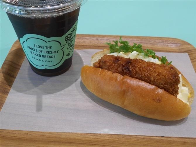 BREAD&CAFE 店内で飲食できる姉妹店 福岡市中央区