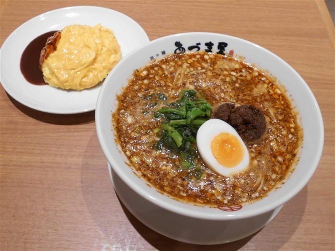 担々麺あづま屋 天神店 香ばしいいりごまで作る 福岡市中央区