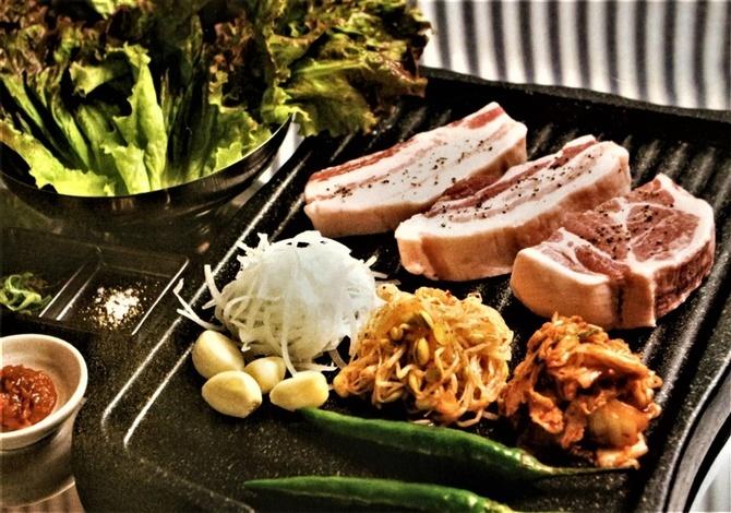 韓流屋台 六ツ門ポチャ 韓国料理の屋台で楽しむ 福岡県久留米市
