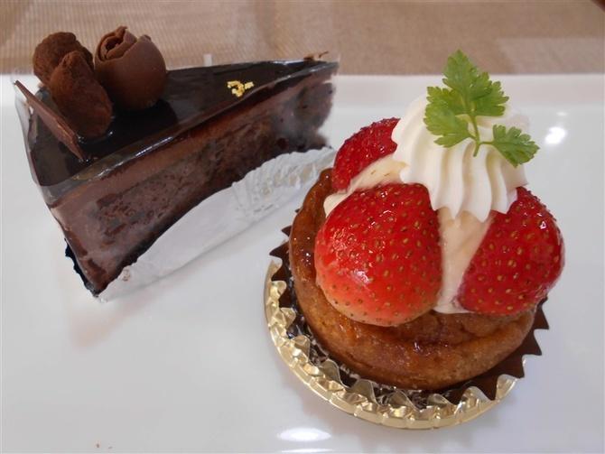洋菓子のモンシェリー 色鮮やかなイチゴタルト 福岡市城南区