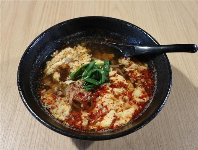 麺や 北﨑商店 味付けや麺が選べる辛麺 福岡市博多区