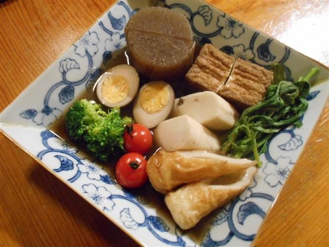 葱鮪屋(ねぎまや) 関東風のおでんがお薦め 福岡市城南区