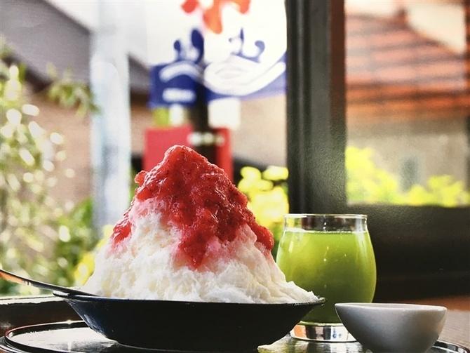 玄米工房 sweets ある ふわふわかき氷が名物 福岡県久留米市