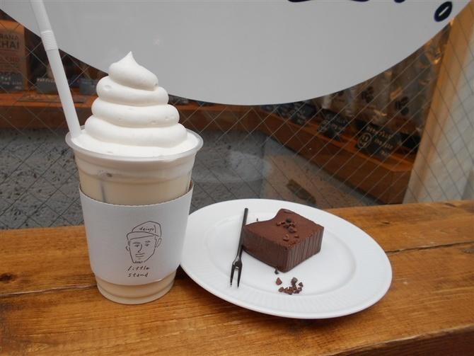 リトルスタンド大名店 クリームをのせたチャイ 福岡市中央区