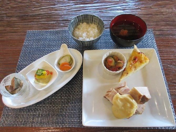 古民家cafe 華蔵(かぐら) 季節替わりの創作ランチ 福岡県筑紫野市