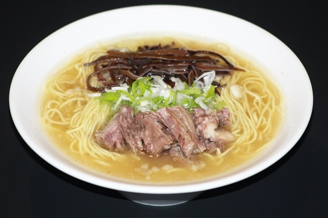 麺や あっさり「テールらぁ麺」 北九州市小倉北区