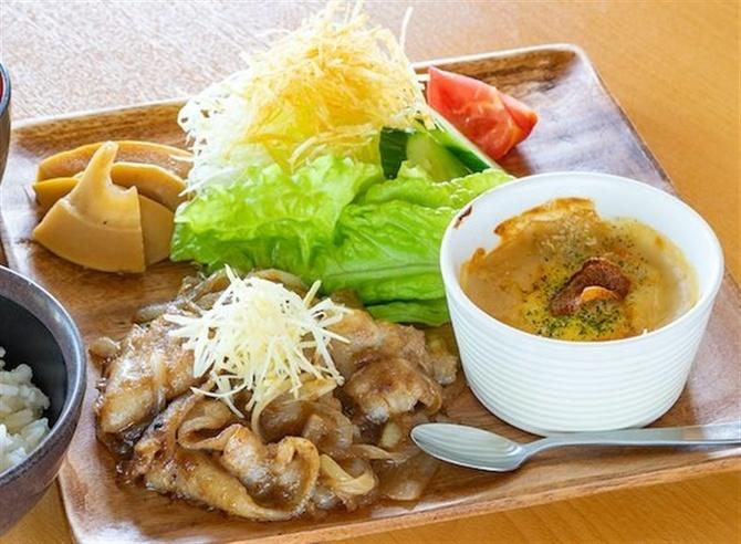 野菜レストラン さんふるる ショウガを全メニューに 熊本県八代市