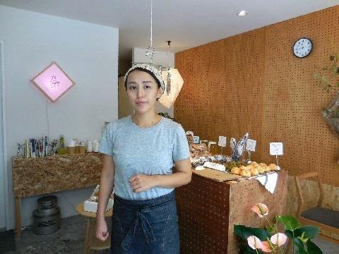 くまのみ堂焼菓子店 米粉使うシフォンケーキ 福岡市早良区