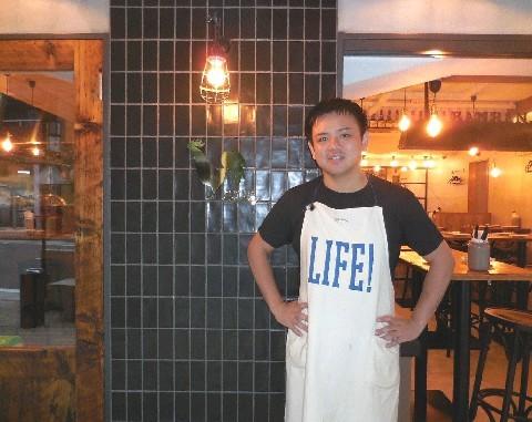 かしわビストロ バンバン 今泉店 滋賀の郷土料理を一工夫 福岡市中央区