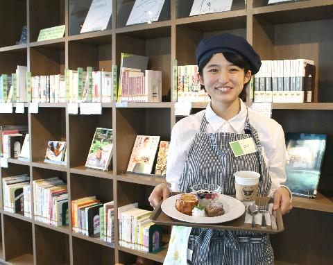 カフェ・ラポール中央図書館 お気に入りの本とランチ 北九州市小倉北区