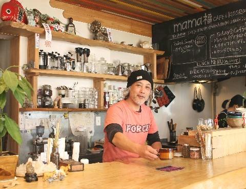 mama福 cafe&kids room 隠れ家的雰囲気のカフェ 北九州市八幡東区