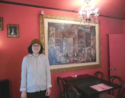 frill cafe パリのカフェをイメージ 福岡市中央区