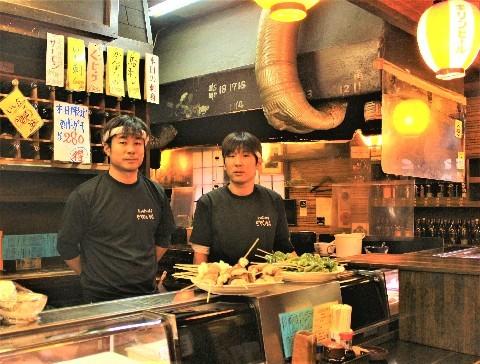 味の庄屋 手刺しの串焼きに大満足 福岡県大川市