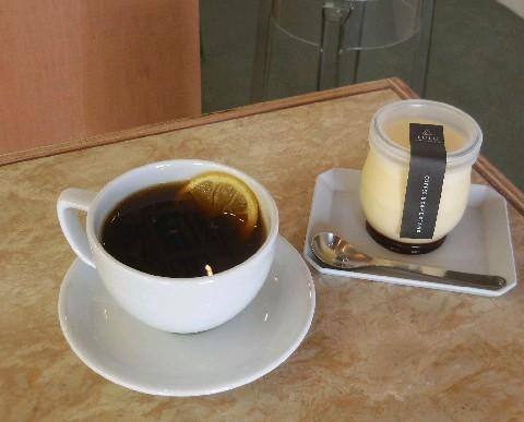 LULU レモンを入れたコーヒー 福岡市中央区