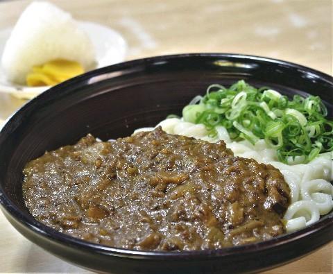 立花うどん 久留米店 肉ごぼう天やカレー好評 福岡県久留米市