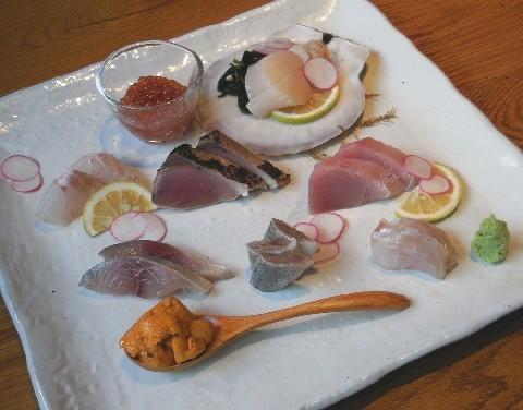 肴(さかな) 魚種に合った調理で出す 福岡市中央区