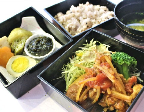 AMI cafe 日替わりで1日10食限定 福岡県大木町