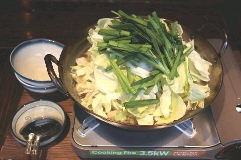 よしむら 牛テールスープのもつ鍋 福岡市中央区