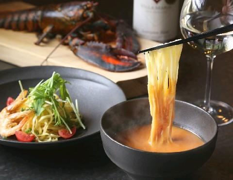 つけ麺バル エスプリ 濃厚オマール海老つけ麺 福岡県久留米市