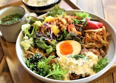 カフェ ド アール 地元野菜たっぷりランチ 福岡県久留米市