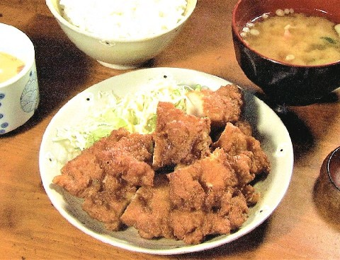 夢屋 430円のボリューム定食 福岡県久留米市